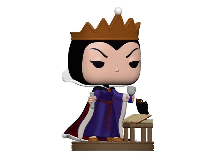 PRÉ VENDA: Funko Pop! Rainha Má Queen Grimhilde: Disney Vilões Villains - Funko