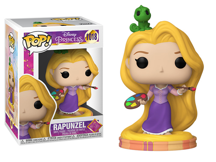 PRÉ VENDA: Funko Pop! Rapunzel: Enrolados Princesas Disney Ultimate Princess #1018 - Funko