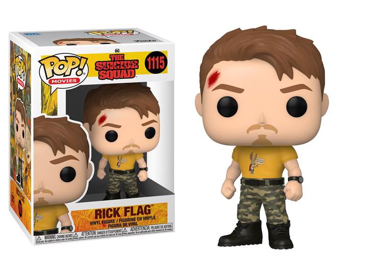 PRÉ VENDA: Funko Pop! Rick Flag: O Esquadrão Suicida The Suicide Squad DC Comics #1115 - Funko