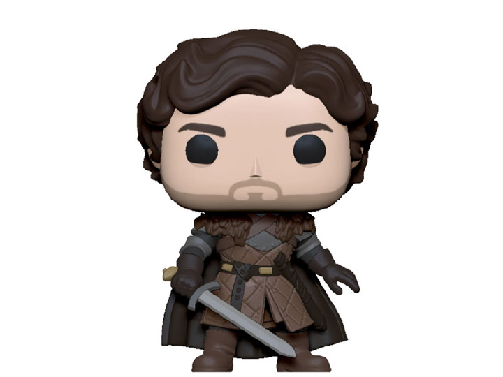 PRÉ VENDA: Funko Pop! Robb Stark Com Espada Robb Stark with Sword: Game of Thrones 10 Anos - Funko