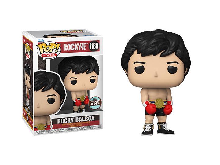 PRÉ VENDA: Funko Pop! Rocky Balboa: Rocky45  Aniversario 45 Anos Specialty Series Exclusivo #1180 - Funko