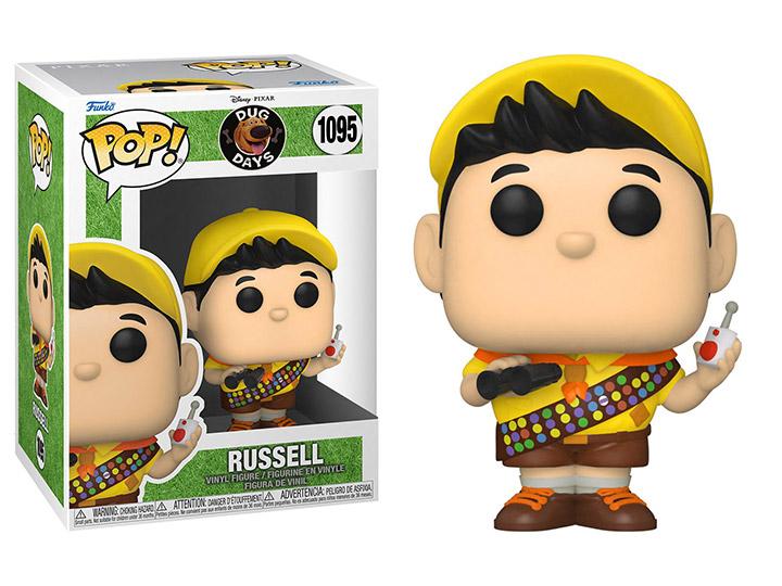 PRÉ VENDA: Funko Pop! Russell: Dug Days Disney #1095 - Funko