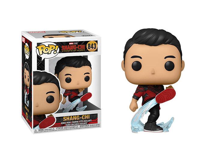 PRÉ VENDA: Funko Pop! Shang-Chi (Kicking): Shang-Chi e a Lenda dos Dez Anéis #843 Marvel - Funko