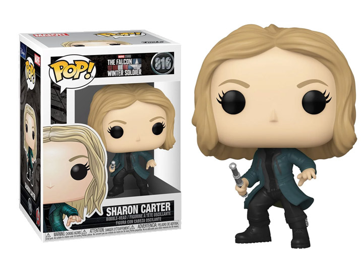PRÉ VENDA: Funko Pop! Sharon Carter Agente 13: Falcão e Soldado Invernal The Falcon & The Winter Soldier #816 - Funko