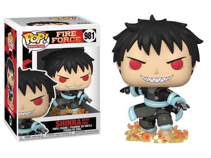 PRÉ VENDA: Funko Pop! Shinra (With Fire): Fire Force #981 - Funko