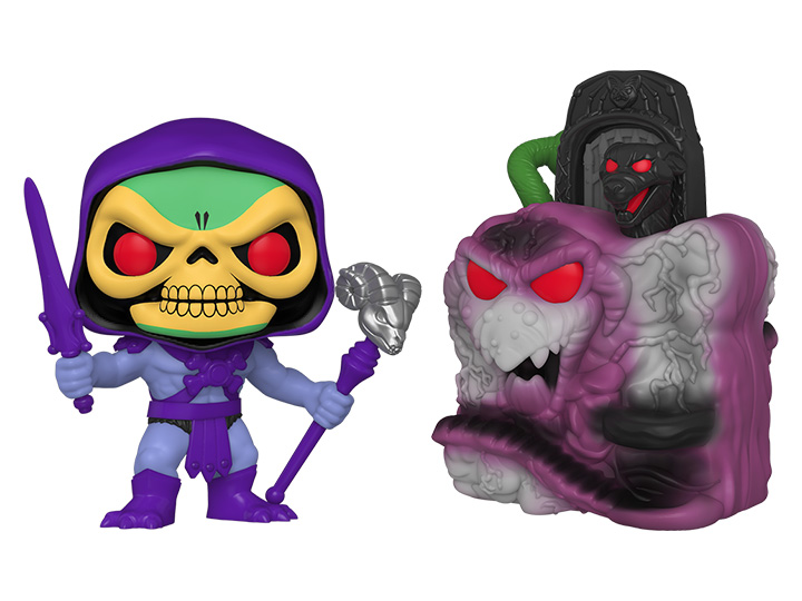 PRÉ VENDA: Funko Pop! Snake Mountain with Skeletor: Masters of the Universe #23 - Funko