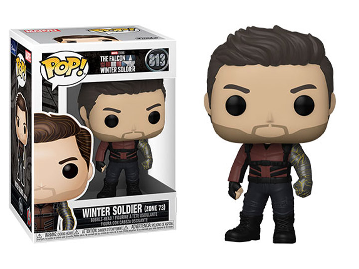 PRÉ VENDA: Funko Pop! Soldado Invernal Zone 73: Falcão e Soldado Invernal The Falcon and the Winter Soldier #813 Marvel - Funko