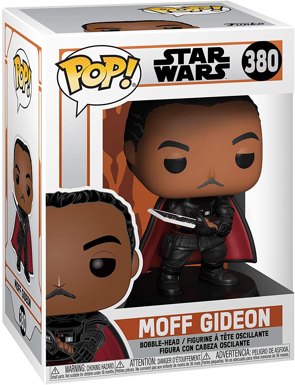 PRÉ VENDA: Funko Pop! Star Wars: Mandalorian - Moff Gideon com Darksaber - Funko