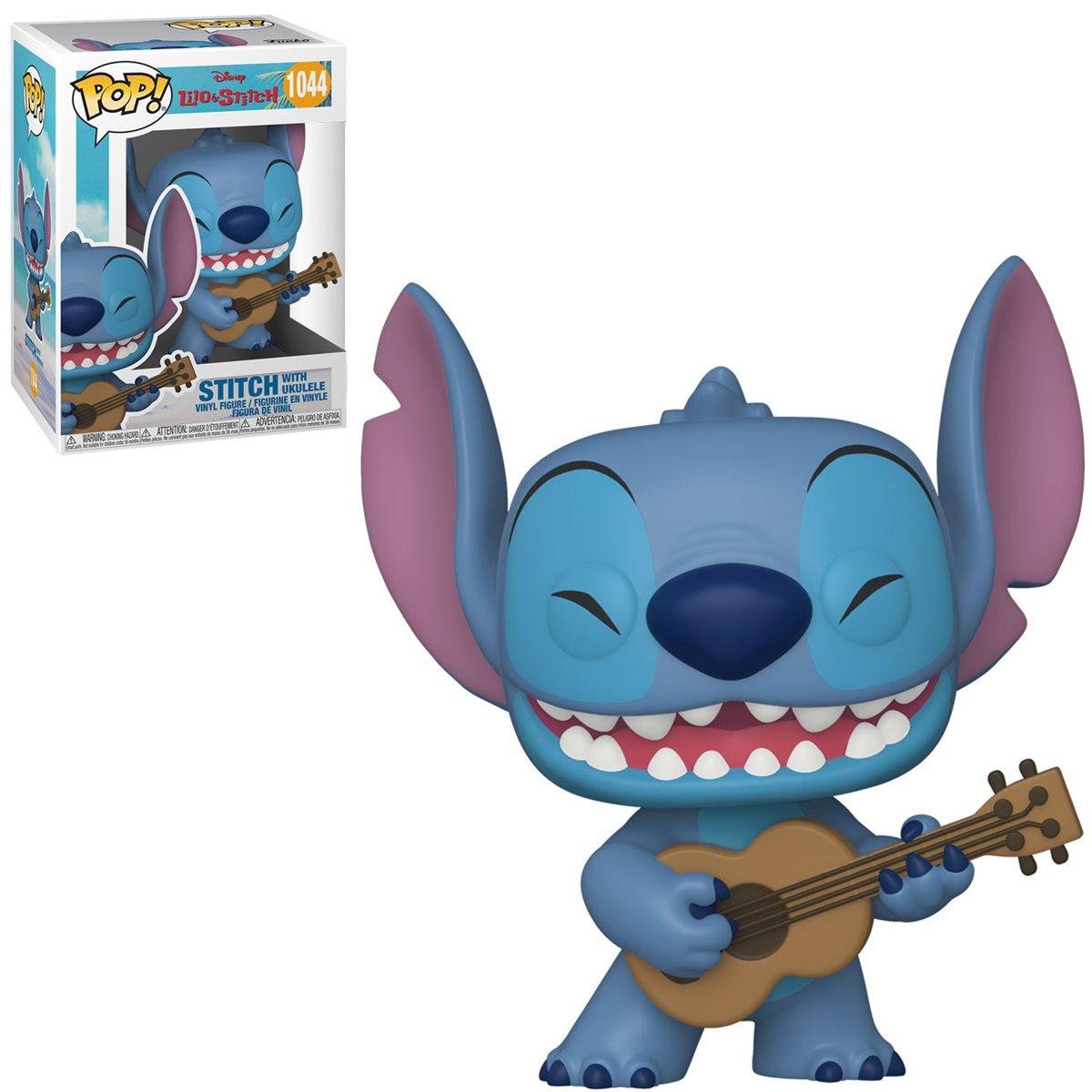 PRÉ VENDA: Funko Pop! Stitch Com Ukulele: Lilo & Stitch Disney #1044 - Funko