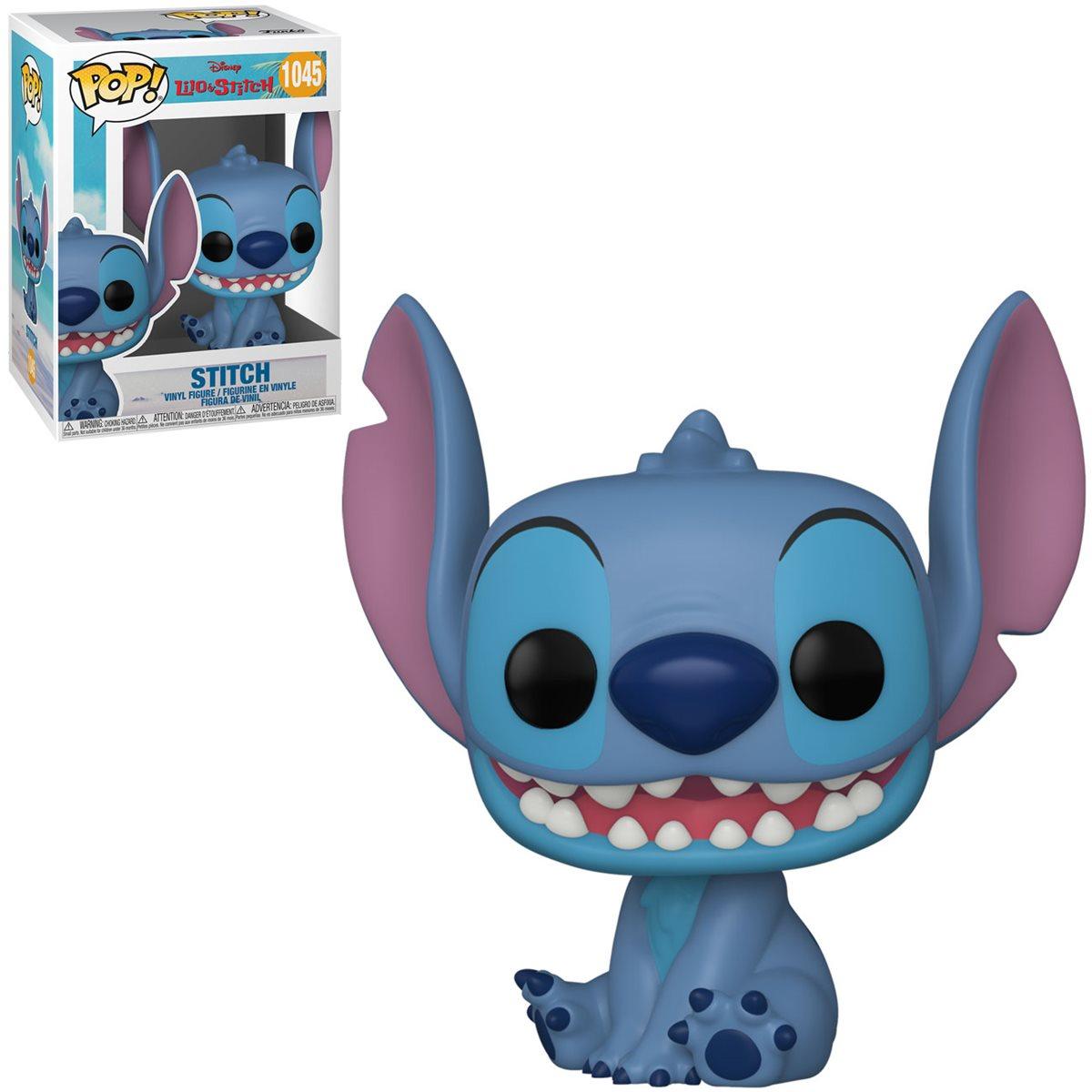 PRÉ VENDA: Funko Pop! Stitch Sentado e Sorrindo: Lilo & Stitch Disney #1045 - Funko