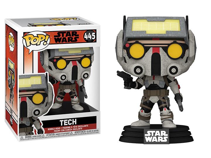 PRÉ VENDA: Funko Pop! Tech: Star Wars: The Bad Batch #445 - Funko