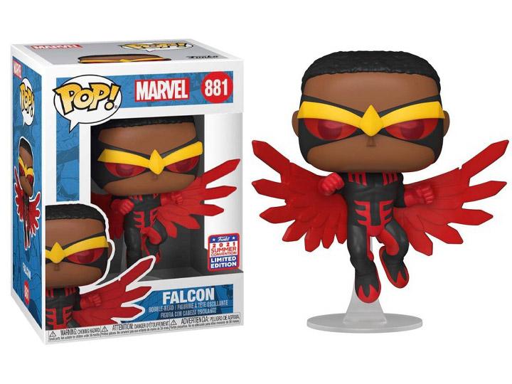 Funko Pop! The Falcon: Falcão e o Soldado Invernal Marvel Limited Edition #881 - Funko