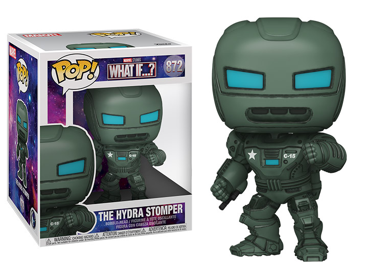 PRÉ VENDA: Funko Pop! The Hydra Stomper: What if...? Super Sized 6 Marvel #872 - Funko