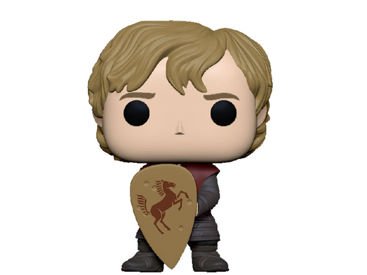PRÉ VENDA: Funko Pop! Tyrion Com Escudo Tyrion with Shield: Game of Thrones 10 Anos - Funko
