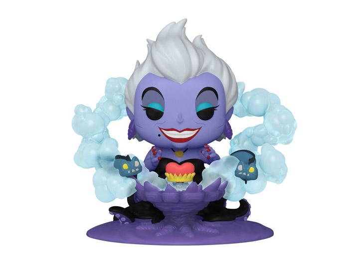 PRÉ VENDA: Funko Pop! Ursula No Trono Ursula On Throne Deluxe: Disney Vilões Villains - Funko