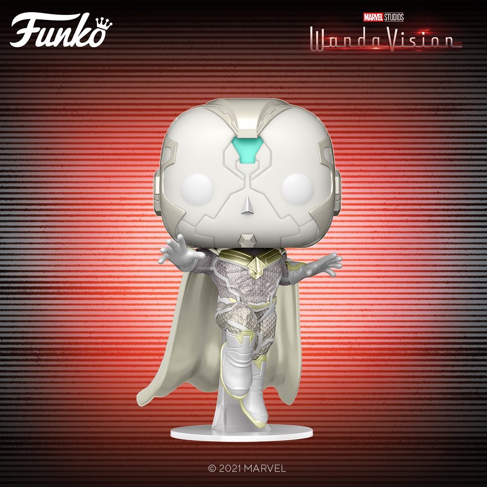 PRÉ VENDA:  Funko Pop!: Visão Branco