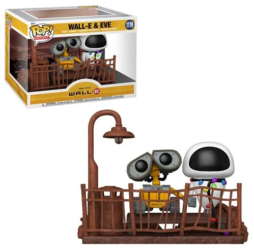 PRÉ VENDA: Funko Pop! Wall-E and Eve: Wall-E Disney #1119- Funko