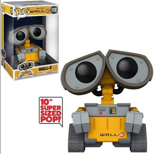 PRÉ VENDA: Funko Pop! Wall-E Jumbo: Wall-E Disney #1118- Funko