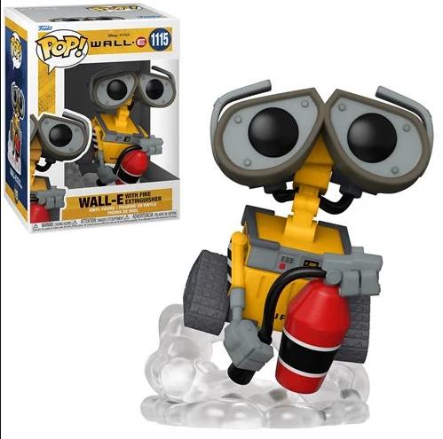 PRÉ VENDA: Funko Pop! Wall-E With Fire Extinguisher: Wall-E Disney #1115- Funko