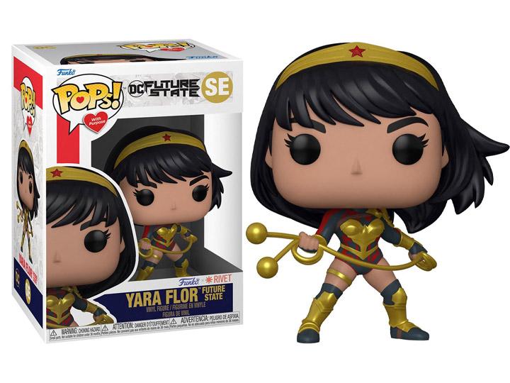 PRÉ VENDA: Funko Pop! Yara Flor: Future State Witch Purpose DC Comics SE - Funko