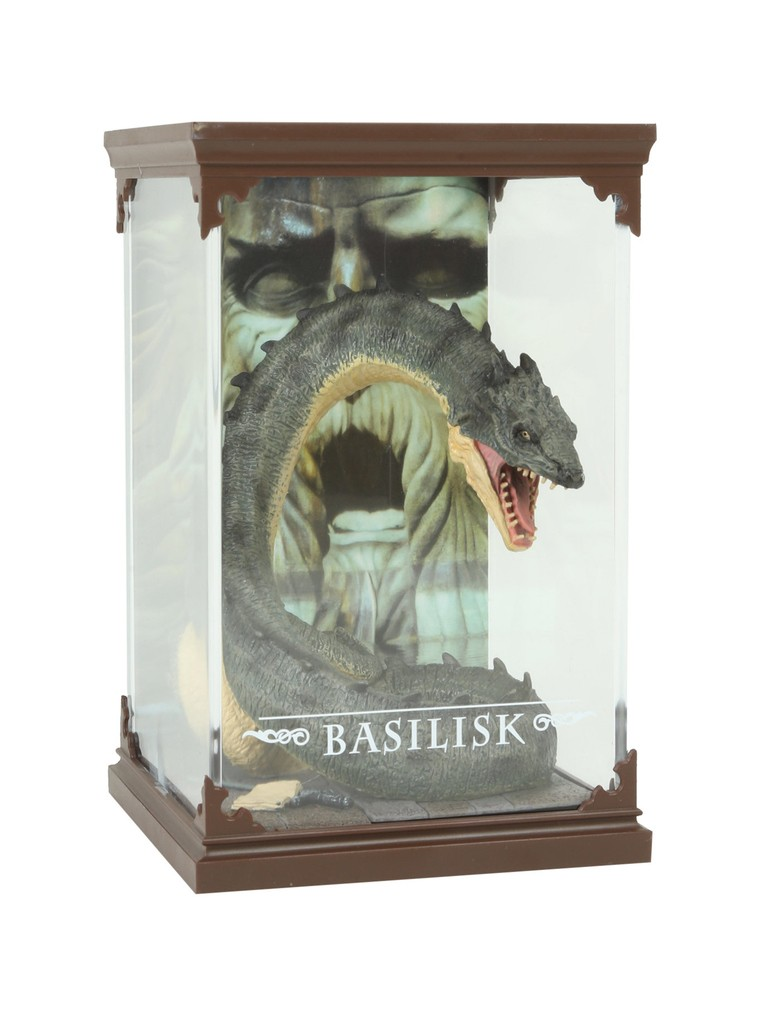 Estátua Basilisk: Harry Potter Magical Creatures - Noble Collection