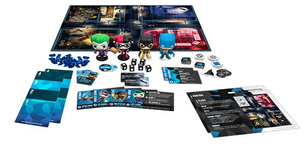 Funko Jogo de Tabuleiro (Board Games) DC 100 Strategy Game Base Set: Funkoverse - Funko