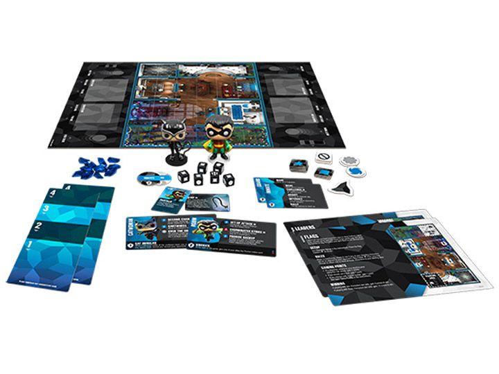 Funko PRÉ-VENDA Jogo de Tabuleiro (Board Games) DC 101 Strategy Game Expandalone: Funkoverse - Funko