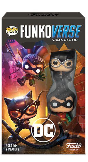 PRÉ-VENDA Jogo de Tabuleiro (Board Games) DC 101 Strategy Game Expandalone: Funkoverse - Funko