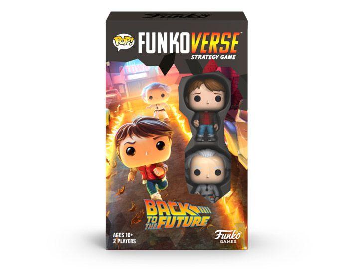 PRÉ VENDA: Jogo de Tabuleiro (Board Games): De Volta Para o Futuro (Back to the Future)100 Strategy Game Base Set Funkoverse: Funko