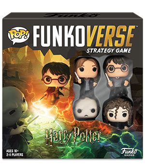 Funko Jogo de Tabuleiro (Board Games) Harry Potter 100 Strategy Game Base Set: Funkoverse - Funko