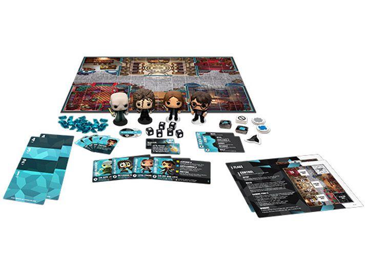 Funko Jogo de Tabuleiro (Board Games) Harry Potter 100 Strategy Game Base Set: Funkoverse - Funko