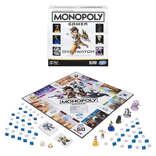 PRÉ-VENDA: Jogo de Tabuleiro Monopoly: Overwatch (Collector's Edition)  - USAopoly