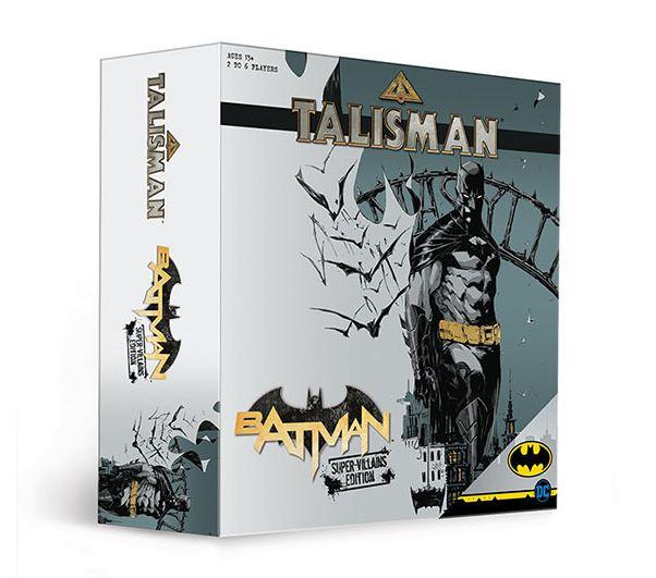 PRÉ VENDA Jogo de Tabuleiro Talismã: Batman Super-Vilões - USAopoly - Monopoly