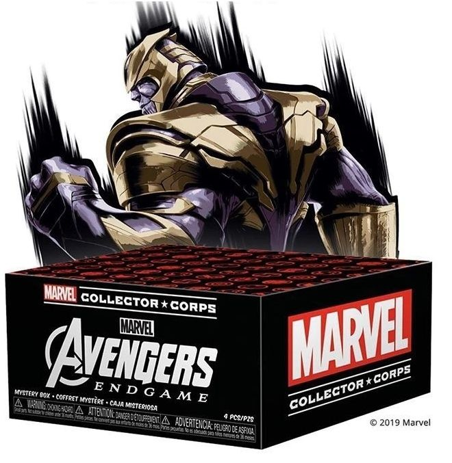 PRÉ VENDA: Kit Exclusivo Pop! Funko Collector Corps Marvel: Vingadores Ultimato (Avengers Endgame) - Funko