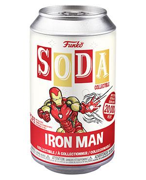 PRÉ VENDA: Lata Pop! Funko Homem de Ferro Vingadores Avengers: Ultimato Endgame Vinyl Soda Iron Man Edição Limitada - Funko