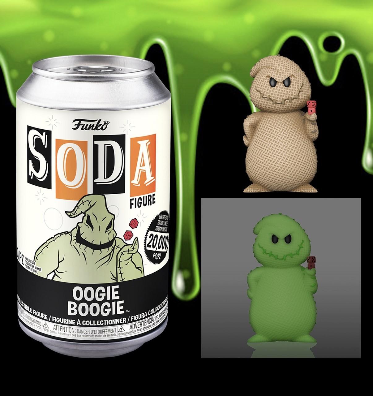 PRÉ VENDA: Lata Pop! Oogie Boogie: O Estranho Mundo de Jack Vinyl Soda: ( Edição Limitada) - Funko