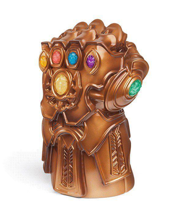 Luminária de Mesa Manopla do Infinito (Infinity Gauntlet): Vingadores Guerra Infinita (Avengers Infinity War) - Exclusivo Toyshow