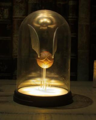 PRÉ VENDA: Luminária Decorativa Pomo de Ouro: Harry Potter
