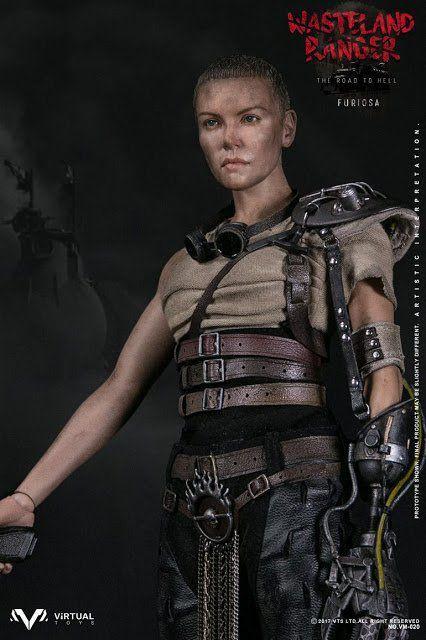 PRÉ VENDA: Boneco Imperatriz Furiosa (Charlize Theron): Mad Max Escala 1/6 - Virtual Toys