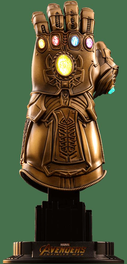 Manopla do Infinito (Infinity Gauntlet): Vingadores Guerra Infinita (Avengers Infinity War) (Escala 1/4) - Hot Toys