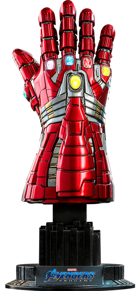 Manopla do Infinito (Nano Gauntlet-Hulk Version): Vingadores Ultimato (Avengers Endgame) (Escala 1/4) - Hot Toys (Apenas Venda Online)