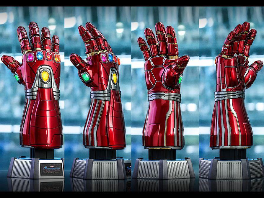 PRÉ VENDA Manopla do Infinito (Nano Gauntlet Life-Size): Vingadores Ultimato (Avengers Endgame) - Hot Toys