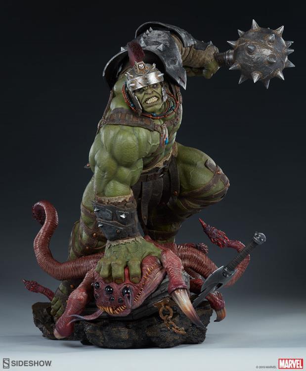 PRÉ-VENDA Maquete Hulk Gladiador: Marvel - Sideshow