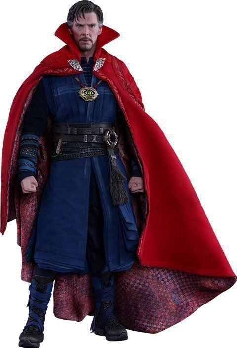 Action Figure Doutor Estranho (Doctor Strange) Marvel (MMS387) Escala 1/6 - Hot Toys - CDL