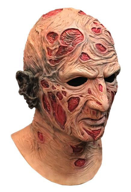 PRÉ VENDA: Máscara de Látex Freddy Krueger: A Hora do Pesadelo (A Nightmare on Elm Street)