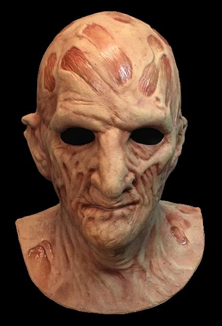 PRÉ VENDA: Máscara de Látex Freddy Krueger: A Hora do Pesadelo A Vingança de Freddy (A Nightmare on Elm Street 2)