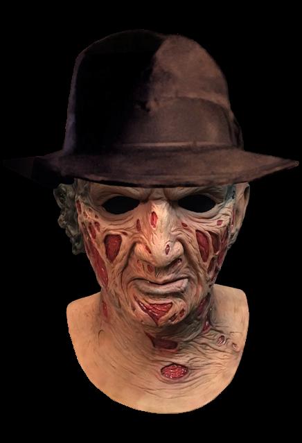 PRÉ VENDA: Máscara de Látex Freddy Krueger (Deluxe): A Hora do Pesadelo (A Nightmare on Elm Street)