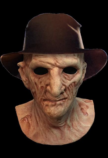 PRÉ VENDA: Máscara de Látex Freddy Krueger (Deluxe): A Hora do Pesadelo A Vingança de Freddy (A Nightmare on Elm Street 2)