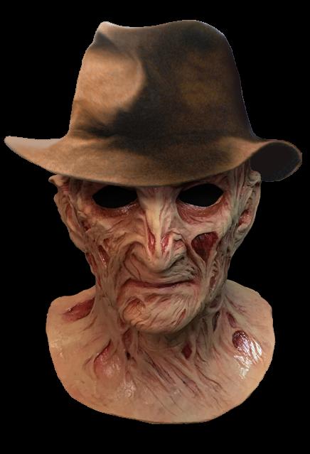 PRÉ VENDA: Máscara de Látex Freddy Krueger (Deluxe): A Hora do Pesadelo O Mestre dos Sonhos (A Nightmare on Elm Street 4)