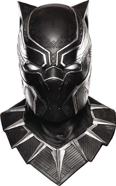 PRÉ VENDA: Máscara Pantera Negra (Black Panther): Marvel - Rubies Costume